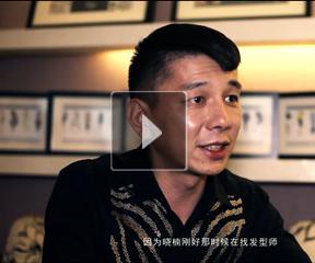 #美丽看中国#凤凰卫视美女主播陈晓楠与造型师周健信任十年