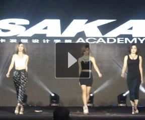 第十届亚洲发型师节SAKA现场造型课程