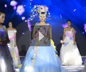 第十七届江苏省美容美发化妆美甲艺术节精彩现场