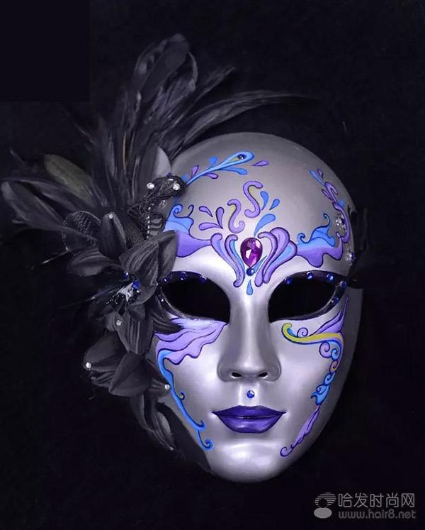 北京毛戈平学校2016第一届手绘面具彩妆大赛入围作品展