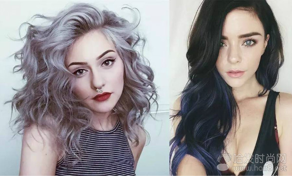 欧美系的妆容及发型成为未来流行趋势.图片