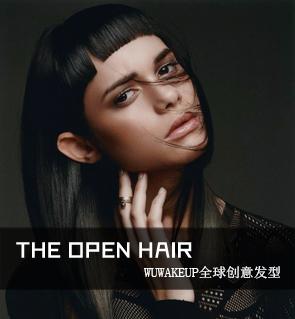 THE OPEN HAIR全球创意发型—女式风格