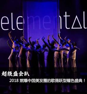 超级盛会趴, 2018 燃爆中国美发圈的歌薇跃型耀色盛典!