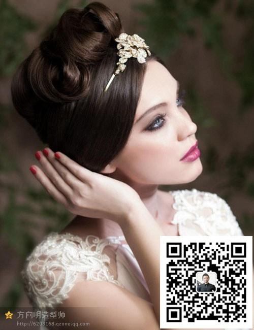 新娘发型装饰