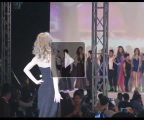 肯洲时尚定制20强选手作品T台展示