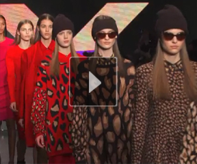 威娜专业美发独家解析2013秋冬DKNY成衣发布发型趋势