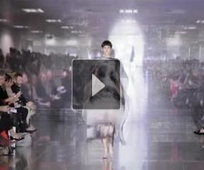 2013秋冬Mary Katrantzou成衣发布发型趋势