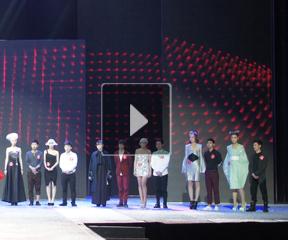 2013威娜国际趋势奖颁奖典礼选手作品现场演绎
