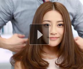 丰盈中分——飘柔2013美发潮流视频教学