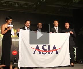 2013亚洲美业金紫荆大奖盛典现场盛况