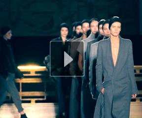 2014巴黎秋冬时装周HAIDER ACKERMANN成衣发布会后台