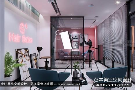 浙江省湖州G+Hair Salon 造型机构理发店装修