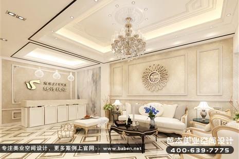 上海欧式风格美发美容综合店装修