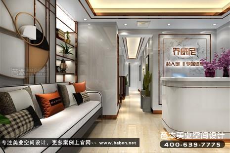 江西省九江乔威尼私人定制专属造型美容院装潢