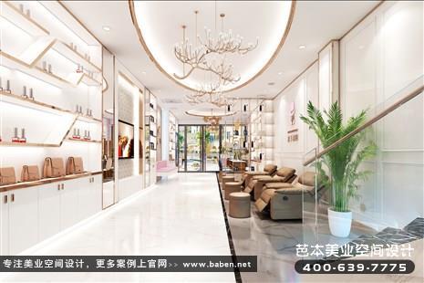 江苏省常州现代简约风格美发美容综合店装修