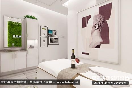 湖南省长沙现代简约风格美容院装潢