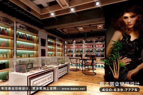 浙江省杭州中式风格美发美容综合店设计