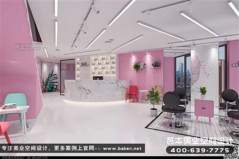 北京诗淇造型美发店装修设计