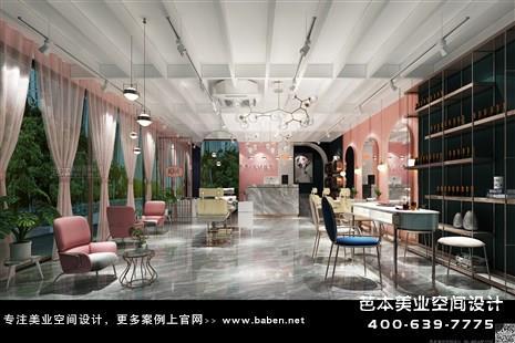 安徽省合肥卡米-KM造型美发美甲美发店装修设计