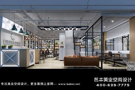 江西省上饶伯爵国际美容造型至尊店美发美容综合店装修