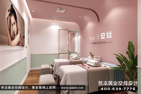 浙江省杭州现代简约风格美容院设计