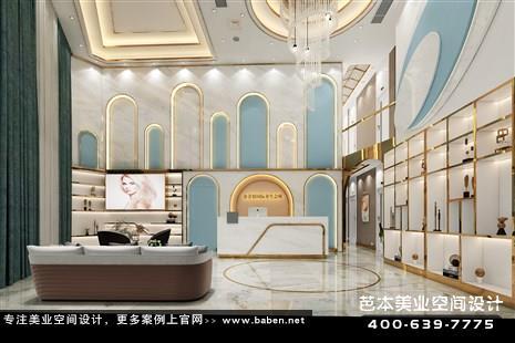 广东省珠海金美容国际养生会所美容院装潢