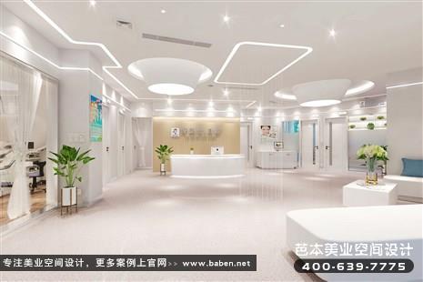 江苏省苏州现代简约风格美发美容综合店装修