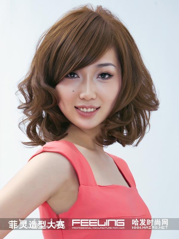 菲灵第八届发型大赛分享展示图片