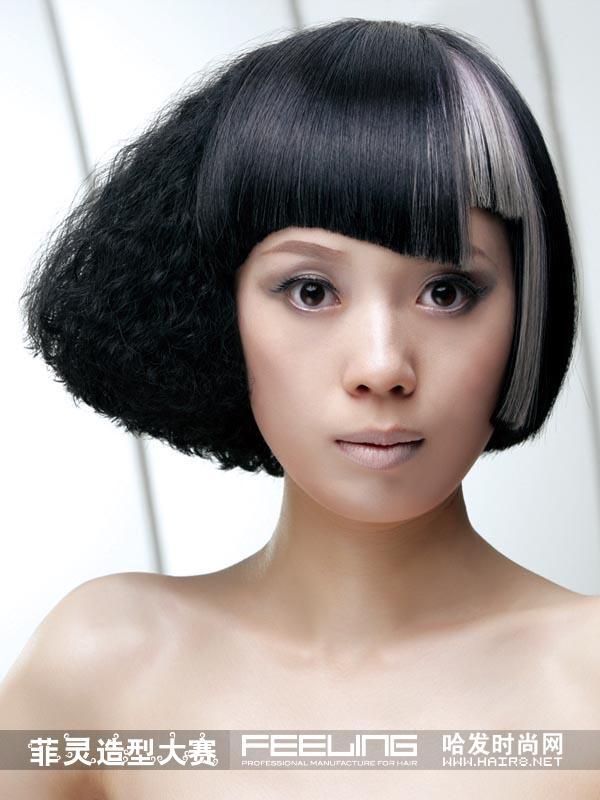 菲灵大赛获奖发型分享展示图片