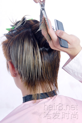 造型技术图解--潮人男发
