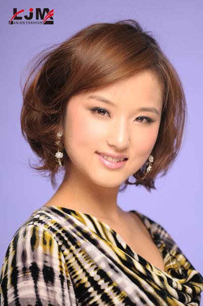亚洲流最新发型赏析图片