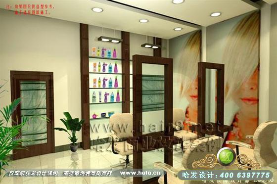 美发店装潢设计,温州文案装修设计,温州企业viv文案全套发廊图片