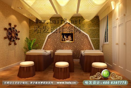 省南通市如皋古埃及混搭风格美容院装修案例图片