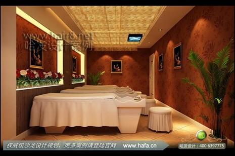 浙江省宁波市欧式奢华加新现代复古混搭美发店装修