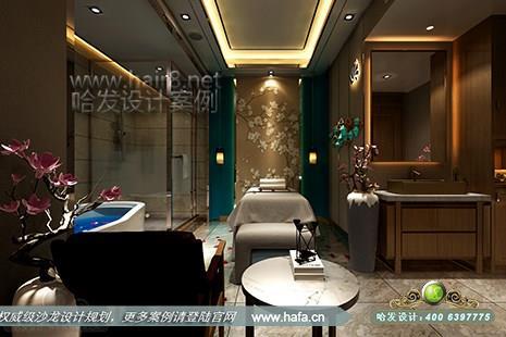 云南省昆明市曲靖漂亮百分百美容美发沙龙图3