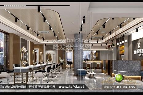 浙江省杭州市丝雨美业养生护肤美发造型