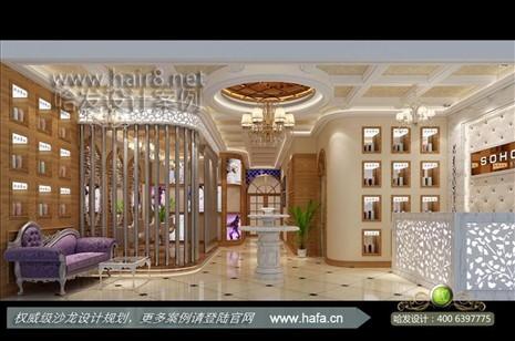 江苏省宿迁市低调奢华欧式发廊装修设计案例【图1】