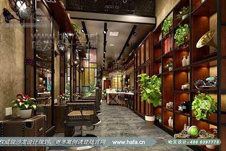 湖南省益阳市纤手风格美学设计图1