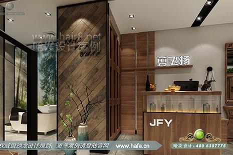 沙龙装修 美发店装修设计 江苏省徐州市剪飞扬美发养发生活馆  是第一