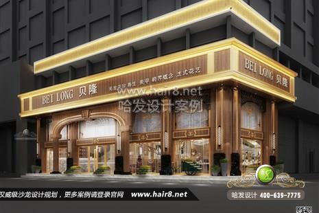 广东省深圳市贝隆美发美容养生美甲跨界概念法式花艺图9