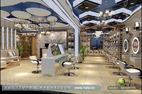 安徽省宣城市花样年华美容美发图1; 美发店装修设计; 美发店装修设计