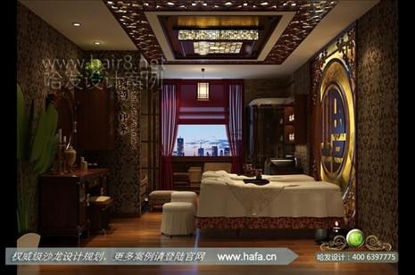 南宁市奢华欧式于低调东南亚混搭打造舒适空间美容院设计案例【图1】
