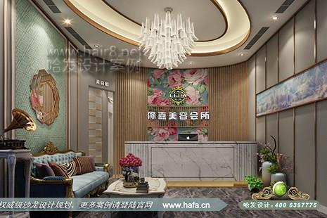北京市俪嘉造型采用欧式风格美容院设计案例图1