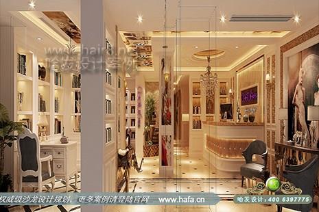 安徽省合肥市希泉国际美容spa会所采用欧式简约设计,欧式风格所追求的