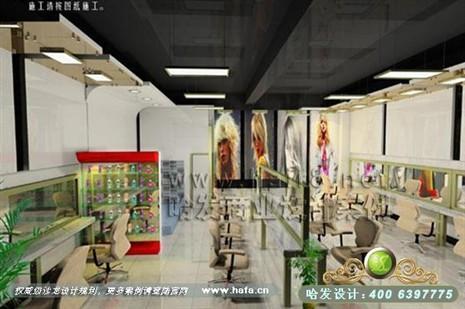 江苏省常州市日式简约风格发廊装