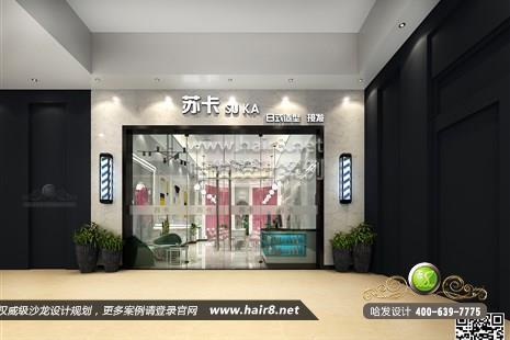 广东省惠州市苏卡日式造型接发图5