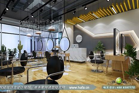 江苏省泰州市奈玖尔造型90GT专业女子美发沙龙图2