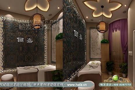 北京市俪嘉造型采用欧式风格美容院设计案例图3
