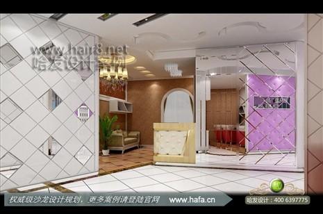 奢华软包之时尚温馨美容店装修案例【图2】