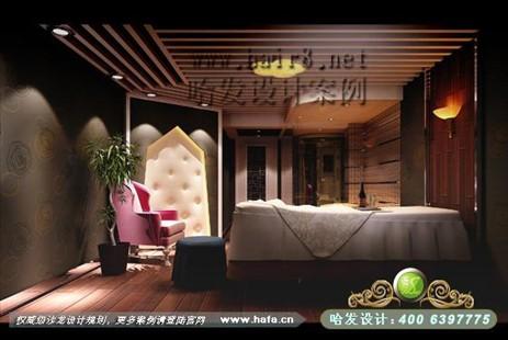 江苏省南京市直线与面的奢华美容院装修案例【图1】
